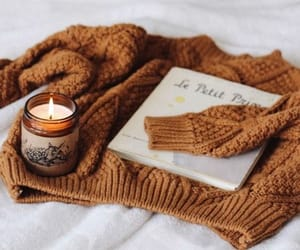 autumn, candle, and cosy image