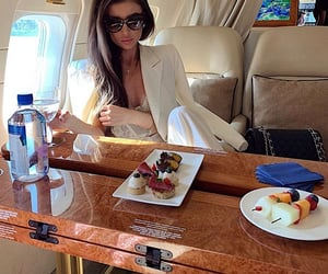 airplane, chic, and delicious image