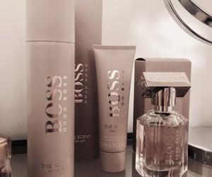 cosmetics, fashion, and Hugo Boss image