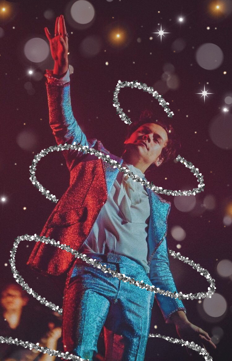 blue, concert, and glitter image