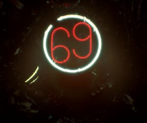 69, lights, and red image