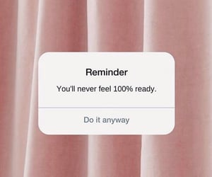 quotes, pink, and reminder image