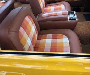 automobiles, plaid, and seating image