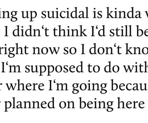 depression, grow up, and hurt image