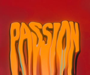 passion, psychedelia, and typography image