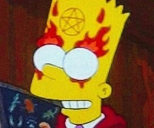 simpsons, Devil, and satan image