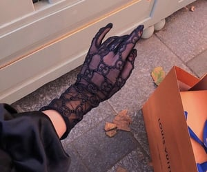 fashion, gloves, and gucci image