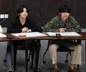 v, jk, and jungkook image