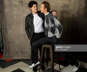 actor, friends, and ansel elgort image