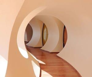 architecture, minimal, and round image