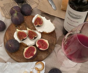 breakfast, fig, and food image