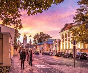 autumn, moscow, and russia image