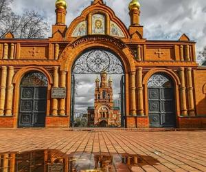 architecture, rusia, and Церковь image