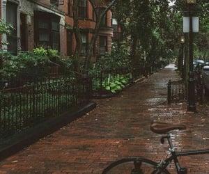 boston, rain, and boston in rain image