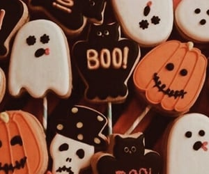 autumn, biscuits, and boo image