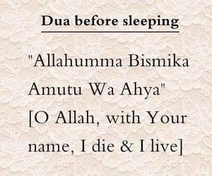 islam, allah, and sleeping image