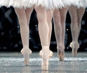 ballerina, legs, and ballet image
