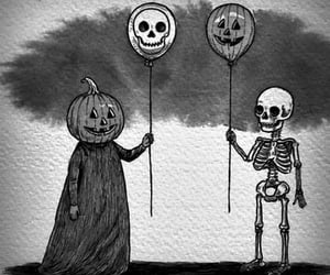 fall, Halloween, and jack image