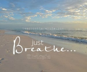 beach, chill, and quote image