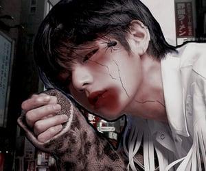 psd, kim taehyung, and bts aesthetics image