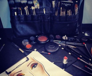 artist, Brushes, and leather image