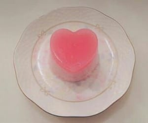 food, heart, and jelly image