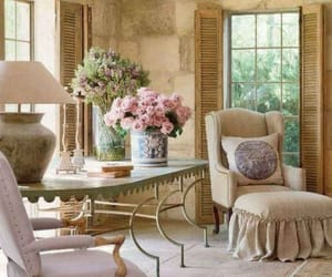 decor, interior, and flowers image