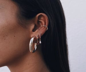 classy, details, and earings image