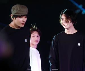 laughing, bangtan, and jungkook image