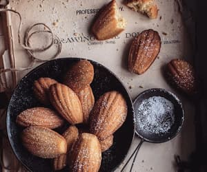 baking, food, and rustic image
