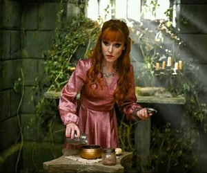 supernatural, witchcraft, and rowena macleod image