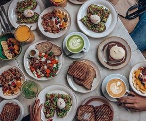 avocado, brunch, and cafe image