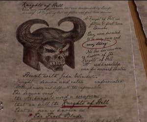 demon, tv series, and entry image
