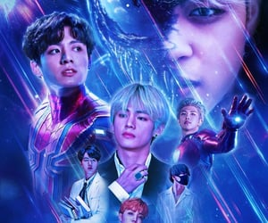 jin, Marvel, and rm image