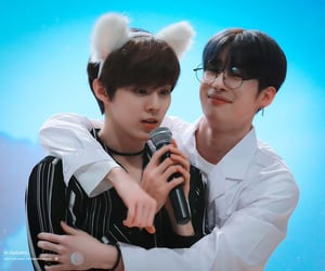 x1, wooseok, and seungwoo image