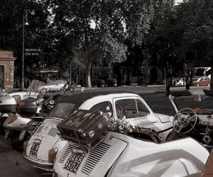 aesthetic, car, and vintage image