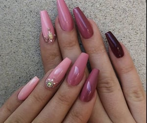 beauty, nail ideas, and fashion image