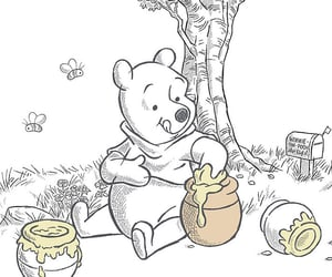 disney, pooh, and wallpaper image