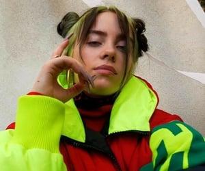 billie eilish and fashion image