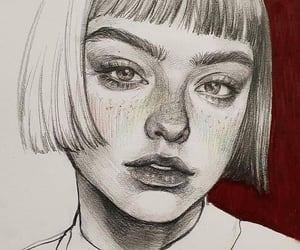aesthetic, drawing, and femme image