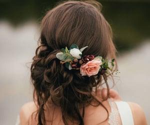 autumn, boho, and brunette image