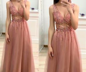 prom gown, prom dresses long, and vestido de festa image
