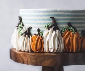 autumn, cake, and pumpkin image