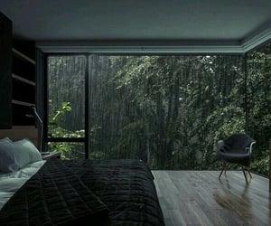 rain, bedroom, and home image