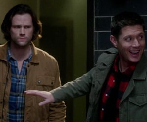 actor, sam and dean, and cw image