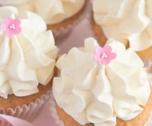 cakes, cream, and sweets image