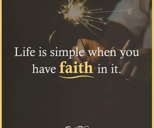believe, faith, and life image