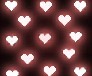 edit, heart, and pink image
