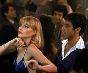 scarface, tony montana, and michelle pfeiffer image