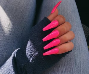 beauty, manicure, and fashion image